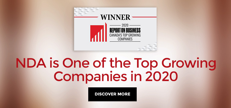 NDA is one of the Top Growing Companies in 2020