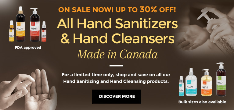 Hand Sanitizers and Hand Cleansing Products