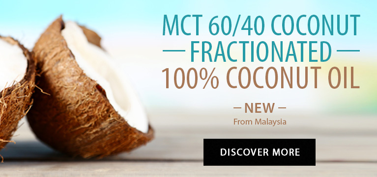 MCT 60/40 Fractionated 100% Coconut Oil