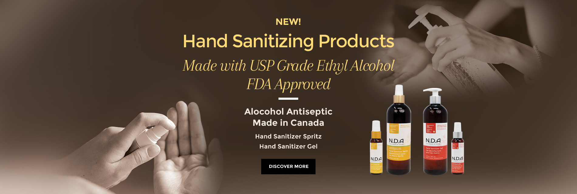 Hand Sanitizing Products