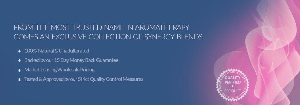 Essential Oil Synergy Blends at Wholesale Prices from New Directions Aromatics
