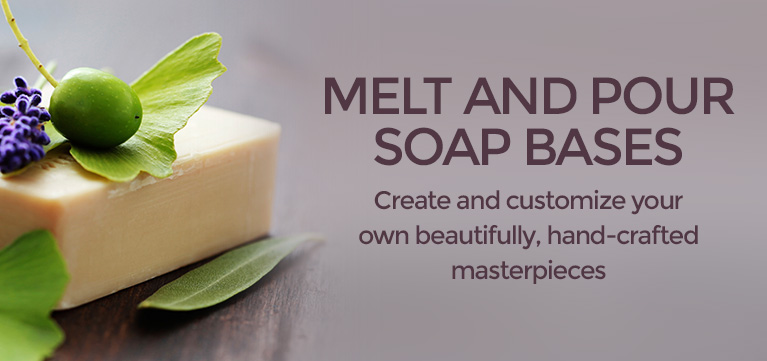 Melt And Pour Soap Bases at Wholesale Prices From New Directions Aromatics