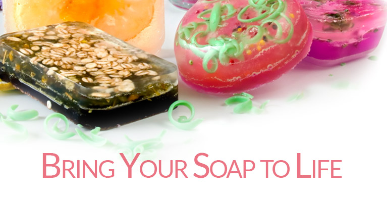 Soap Colorants from New Directions Aromatics