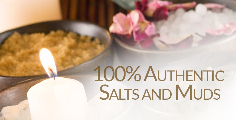 Dead Sea Salts, Dead Sea Muds, Seaweed, only from New Directions Aromatics