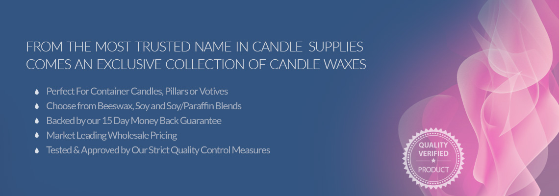 Candle Waxes from New Directions Aromatics