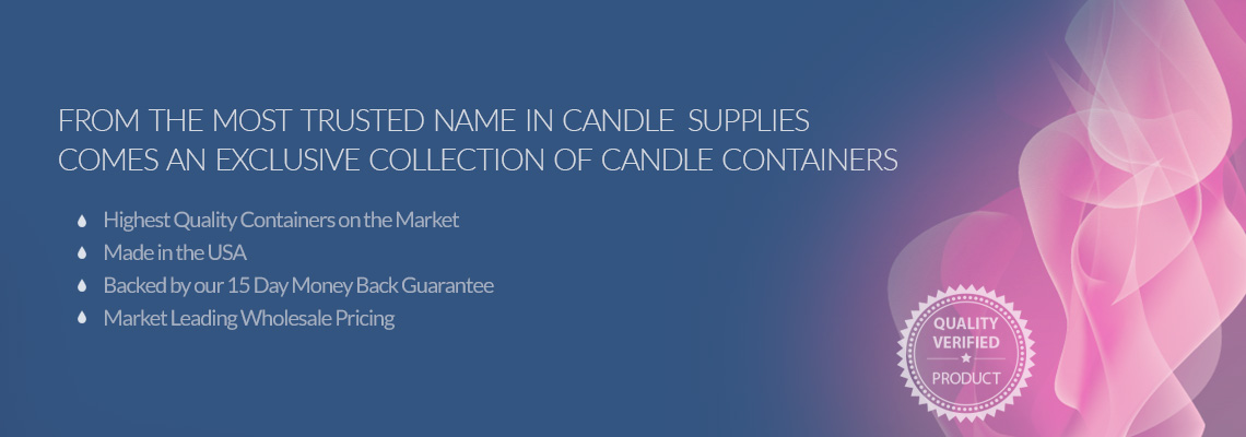 Candle Containers from New Directions Aromatics