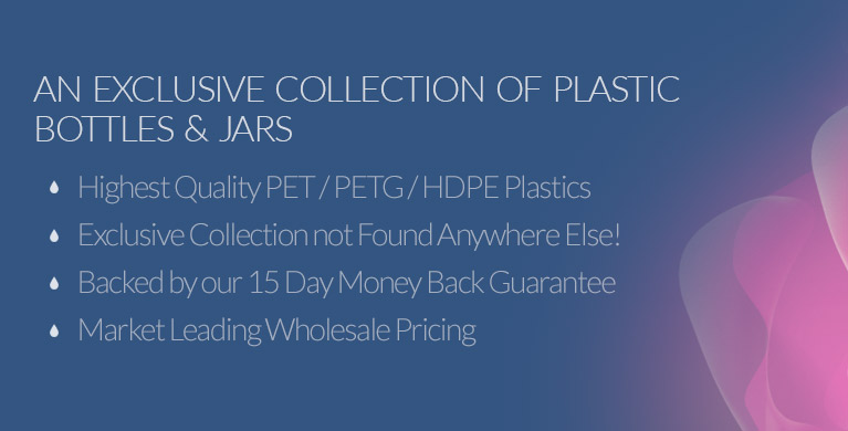 Plastic Bottles & Jars from New Directions Aromatics
