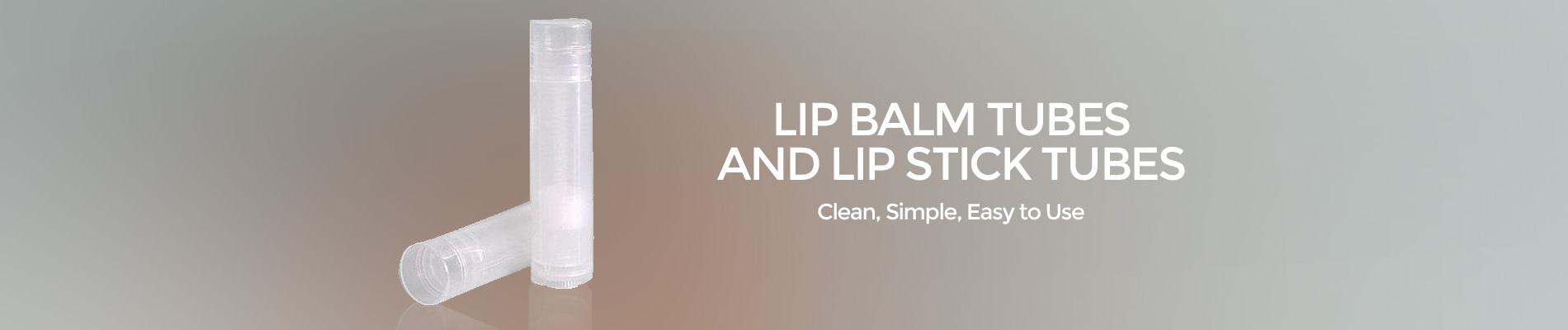 Lip Balm Tubes & Lip Stick Tubes at Wholesale Prices from New Directions Aromatics