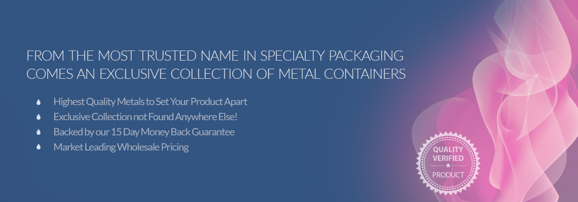 Metal Packaging from New Directions Aromatics