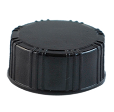 22 mm Cap Black