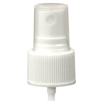 24/410 mm Atomizer White - Ribbed
