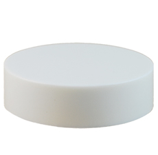 70/400 White Smooth Cap w/ Foam Liner