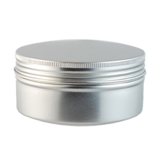 Aluminum Canister (With Screw Top Lid)