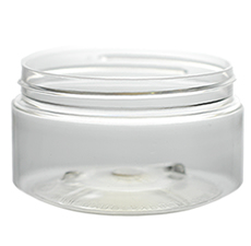 Boston Round Clear Jar