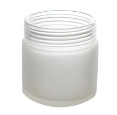 Boston Round Frosted Jar