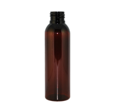 Bullet Amber PET Plastic Bottle