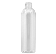 Bullet Clear PET Plastic Bottle