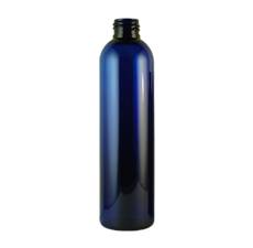 Bullet Cobalt Blue PET Plastic Bottle