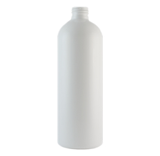 Cosmo Round White PET Plastic Bottle