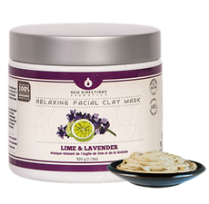 Lime & Lavender Relaxing Facial Clay Mask