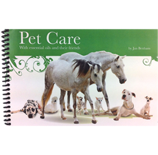 Pet Care Book With Essential Oils And Their Friends