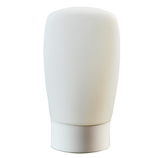 Rap White Plastic Bottle