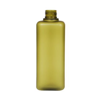 Rectangle Olive Frosted PET Bottle