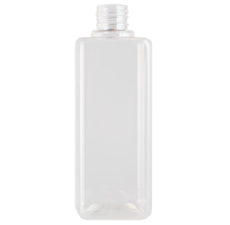 Square Clear Bottle