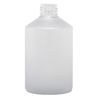Stylus Boston Round Frosted PET Bottle
