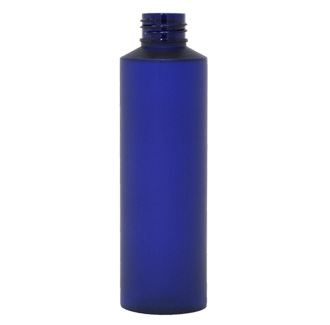 Stylus Bullet Blue Frosted PET Bottle